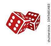 dice vector illustration | Shutterstock .eps vector #1045681483