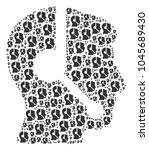 call center operator...   Shutterstock .eps vector #1045689430