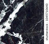black vein marble background. ... | Shutterstock . vector #1045710640