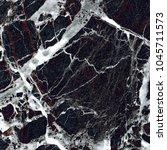 black vein marble background. ... | Shutterstock . vector #1045711573