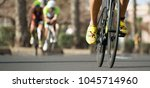 cycling competition cyclist... | Shutterstock . vector #1045714960