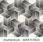 vector seamless pattern. modern ... | Shutterstock .eps vector #1045717810