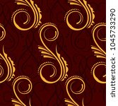 endless abstract pattern.... | Shutterstock .eps vector #1045733290