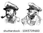 Boatswain With Pipe. Sea...