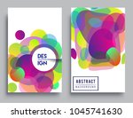 covers templates set with...   Shutterstock .eps vector #1045741630