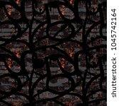 abstract pattern in graffiti... | Shutterstock .eps vector #1045742164
