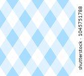light blue argyle seamless...   Shutterstock .eps vector #1045751788