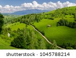 magura  a picturesque village...   Shutterstock . vector #1045788214