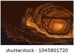 cave of hell | Shutterstock .eps vector #1045801720