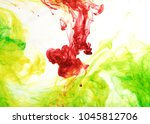 inks in water  color abstraction | Shutterstock . vector #1045812706