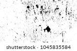 overlay aged grainy messy... | Shutterstock .eps vector #1045835584