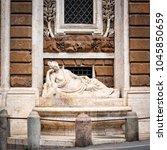 rome  italy   april 14  2017 ...   Shutterstock . vector #1045850659