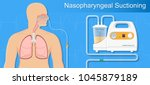 suction patient adult nares... | Shutterstock .eps vector #1045879189