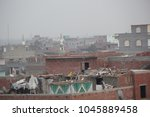 Roofs Of Buildings In A Random...
