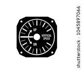 aviation variometer icon | Shutterstock .eps vector #1045897066