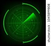 radar vector illustrator.   Shutterstock .eps vector #1045899808