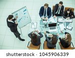 professional business team at... | Shutterstock . vector #1045906339