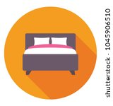 a king sized double bed for... | Shutterstock .eps vector #1045906510
