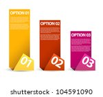 vector paper progress... | Shutterstock .eps vector #104591090