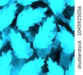 shibori print. fantastic... | Shutterstock . vector #1045925056
