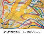 abstract drawing on paper | Shutterstock . vector #1045929178