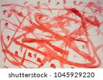 abstract drawing on paper | Shutterstock . vector #1045929220