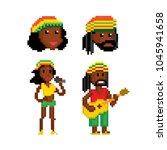 rastafarian reggae musicians...