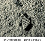 Buzz Aldrin's Footprint On The...