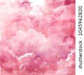 watercolor sky background | Shutterstock . vector #1045962820