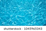 blue and bright water in... | Shutterstock . vector #1045965343