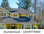 a perfect neighborhood. houses... | Shutterstock . vector #1045975840