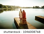 pakistani and indian groom  ... | Shutterstock . vector #1046008768