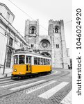 tram line 28e of the tram... | Shutterstock . vector #1046024920
