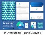 modern corporate identity... | Shutterstock .eps vector #1046028256