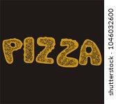 pizza. vector illustration | Shutterstock .eps vector #1046032600