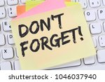 don't forget date meeting... | Shutterstock . vector #1046037940