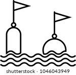 Buoy Icon  Float Buoy Icon...