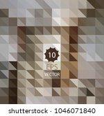 vector geometric abstract...   Shutterstock .eps vector #1046071840