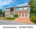 big custom made luxury house... | Shutterstock . vector #1046074090