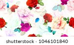wide vintage seamless... | Shutterstock .eps vector #1046101840