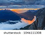 sunset landscape from rosetta... | Shutterstock . vector #1046111308