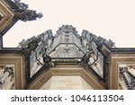 czech architecture  scary... | Shutterstock . vector #1046113504