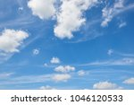 bright sky in spring abstract...   Shutterstock . vector #1046120533