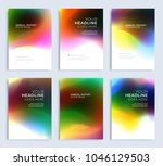 modern abstract annual report ... | Shutterstock .eps vector #1046129503