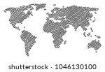 global atlas composition...   Shutterstock .eps vector #1046130100