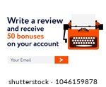 write a review and receive...