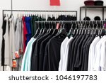fashion luxury casual clothes... | Shutterstock . vector #1046197783