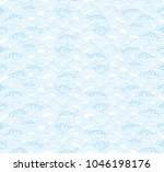 blue background with japanese... | Shutterstock .eps vector #1046198176