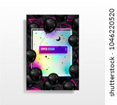 abstract multicolored covers... | Shutterstock .eps vector #1046220520