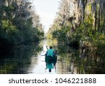 canoeing along the suwannee... | Shutterstock . vector #1046221888